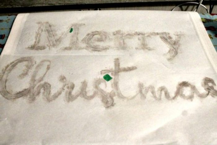 Homemade Christmas Art. christmas banner, merry christmas banner, merry christmas letter banner, xmas banner,,