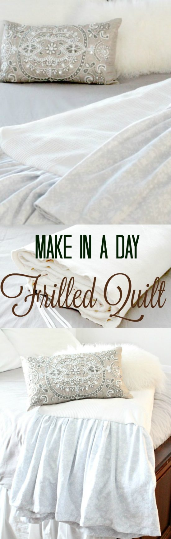 diy blanket, diy throw, diy comforter, ikea hacks, easy quilts to make in a day,