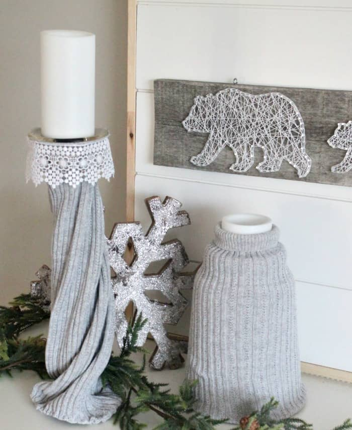 Winter Farmhouse Decor with the Farmhouse Hens   Of Faeries   Fauna     winter farmhouse decor  winter decorating ideas  january decorations   vignette  winter home ideas