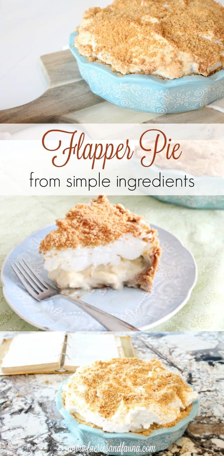 flapper pie, flapper pie recipe, vintage pie recipe, vintage recipes,