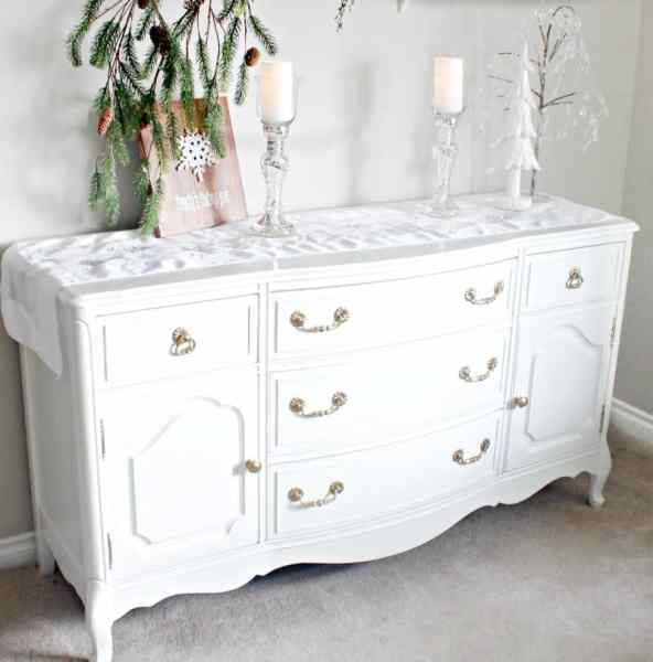 furniture makeover, refinished buffet,sideboard makeover, buffets, buffet makeover, how to refinish furniture, refinished buffet, diy white buffet,