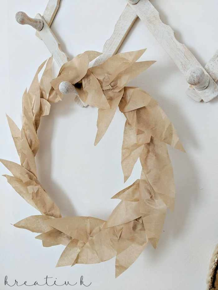 Waste Not Wednesday Feature - Fall Wreath