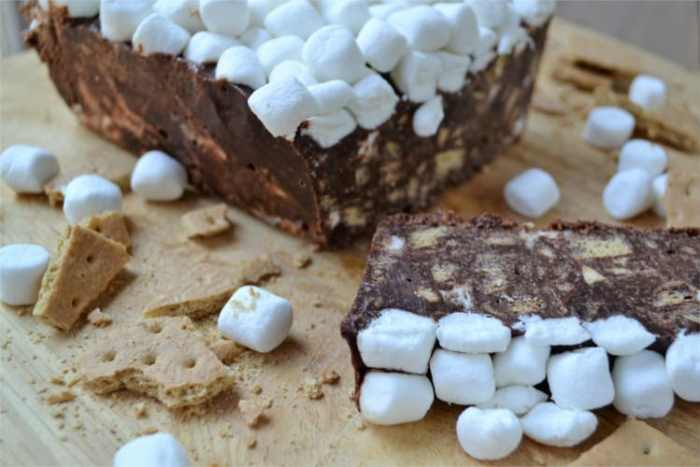 Waste Not Wednesday Feature No Bake Smore Cake