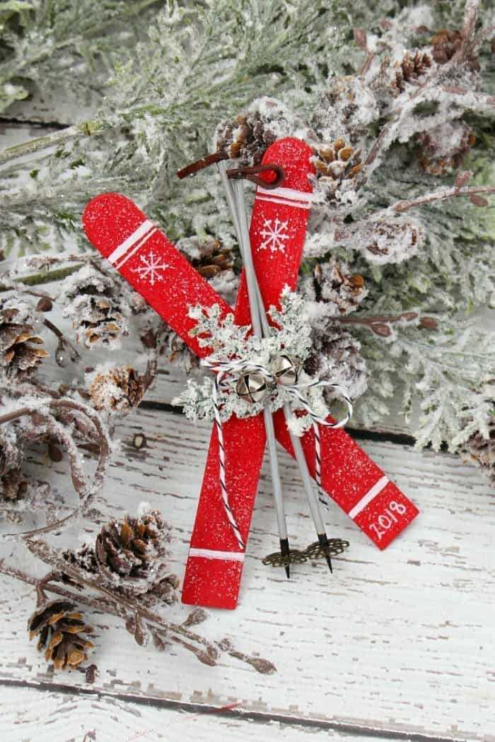 Waste not Wednesday Feature DIY Christmas Ornament