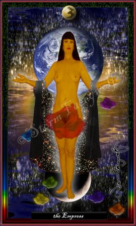 """The Empress"" ©2005 Storm Faerywolf"