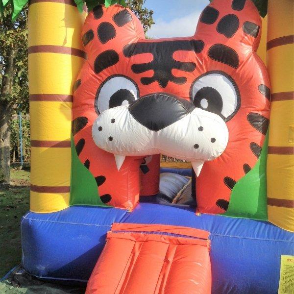 Springkussen multiplay tijger 5×5,6