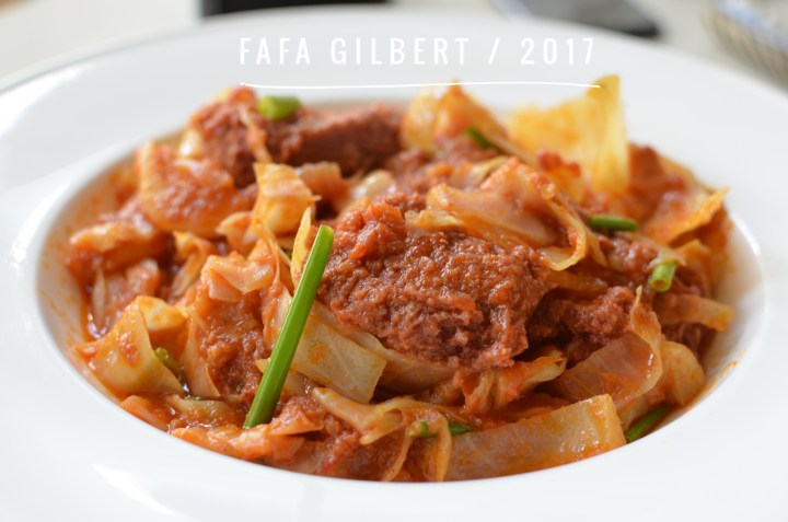 CABBAGE & CORNED BEEF STEW