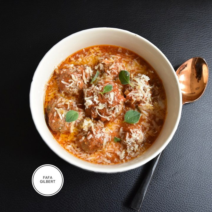 BAKED MEAT BALLS SAUCE