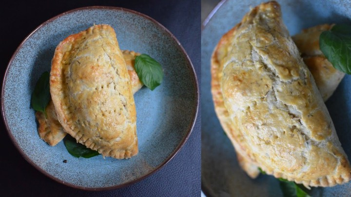 GOAT & CHOCOLATE MINT TURNOVER (PIE)