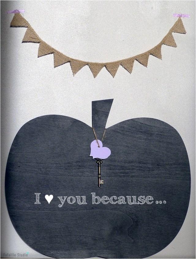 Pomme d'amour_message