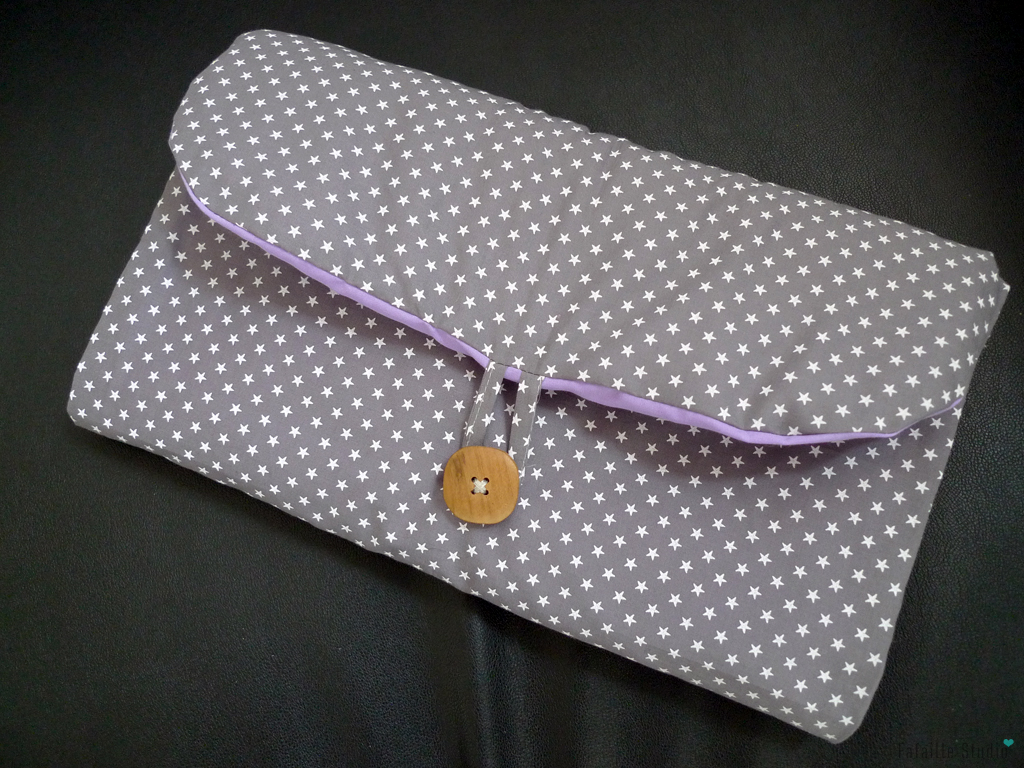 couture pochette a langer nomade