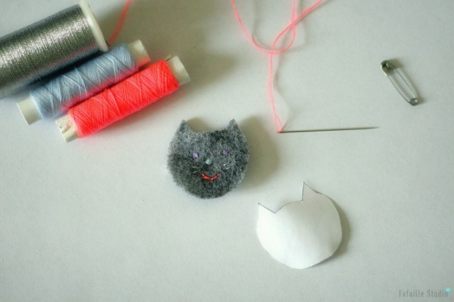 DIY Broche chat