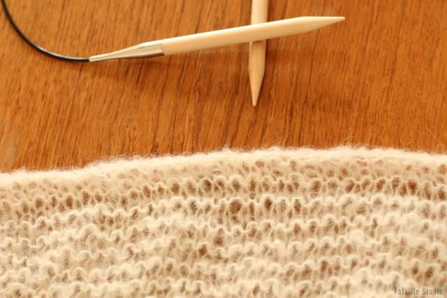 Trendy châle alpaca silk naturel
