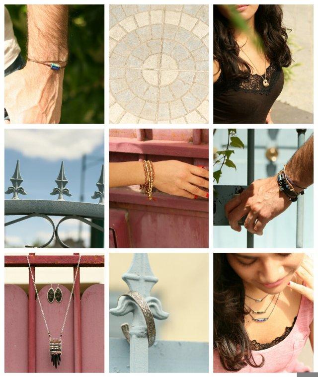 Sélection de bijoux proposés par JAGH Paris