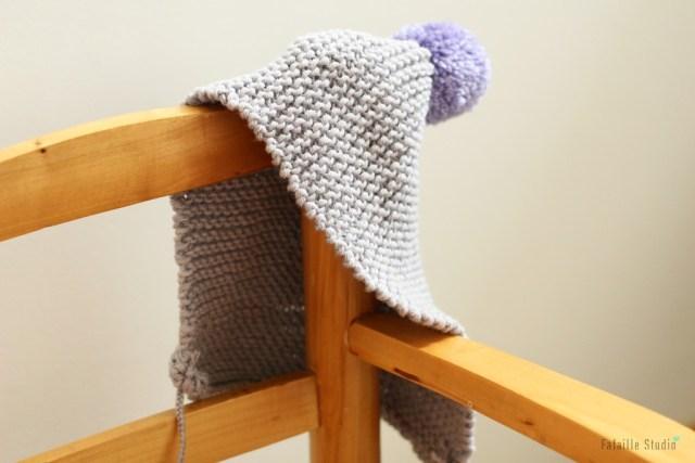 Tricoter un béguin