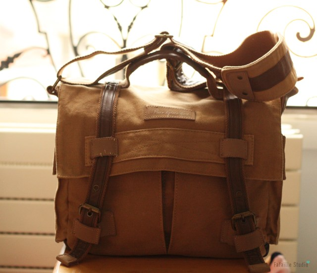 Sac besace pour appareil photo Backpacker