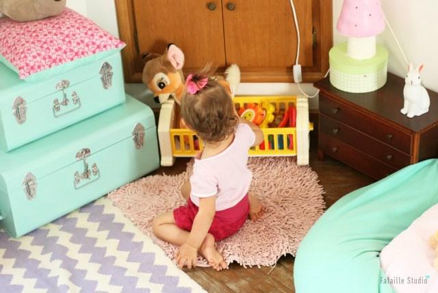 Un lit façon Montessori