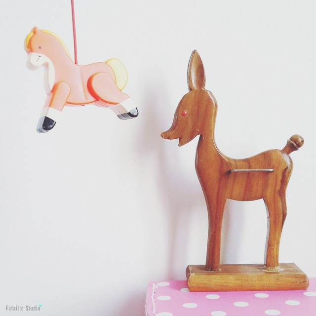 Bambi en bois