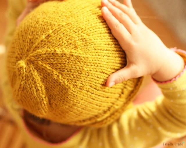 Fermer le sommet d'un bonnet
