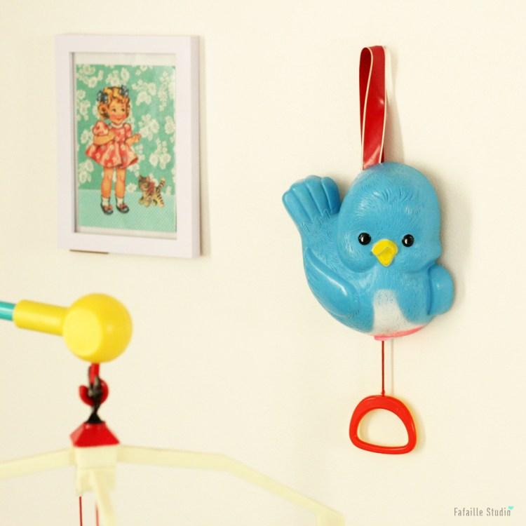 Bluebird fisher price music box