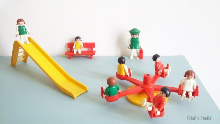 Jeux de récréation Playmobil vintage