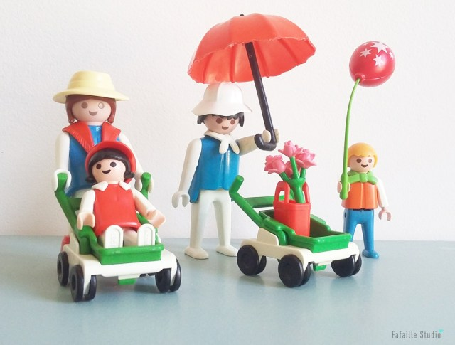 La famille Playmobile vintage