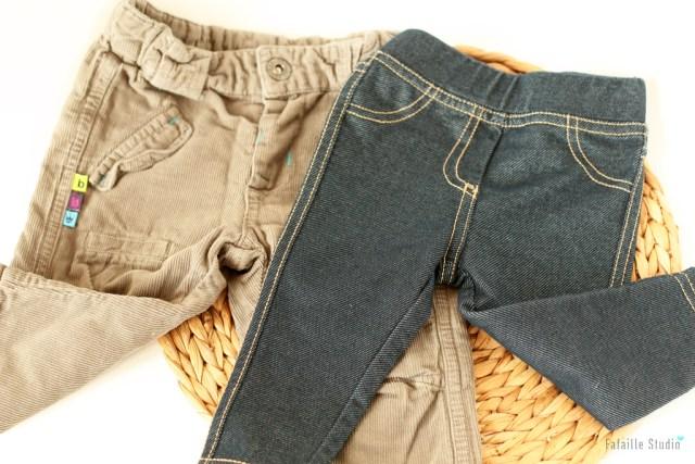 Pantalons nouveau-né