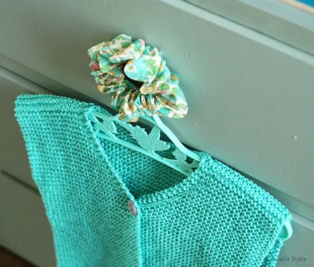 gilet berger facile à tricoter