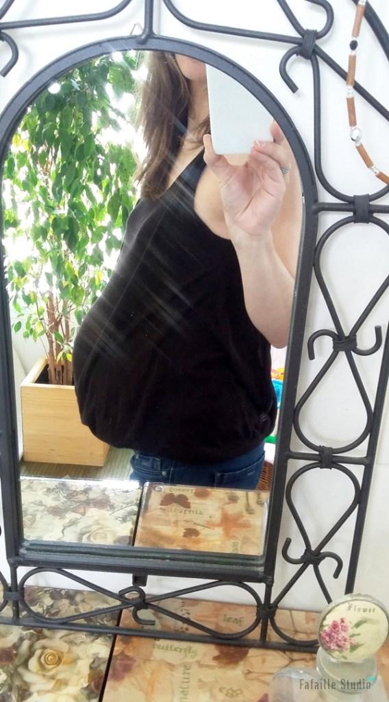 9ème mois de grossesse