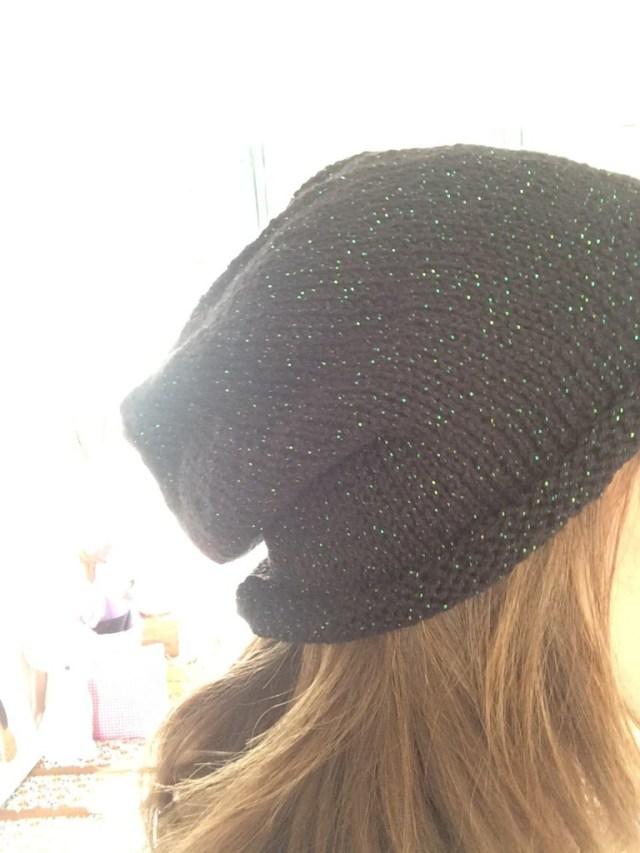 Tricoter bonnet loose