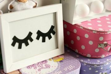 DIY cadre minimaliste pour chambre enfants