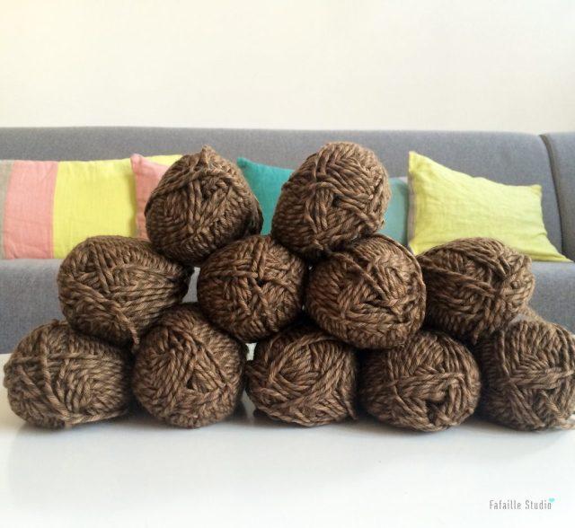 pelotes laine mérinos chinées