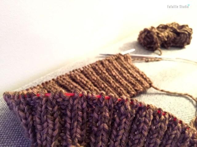 Tuto bandeau tricoté