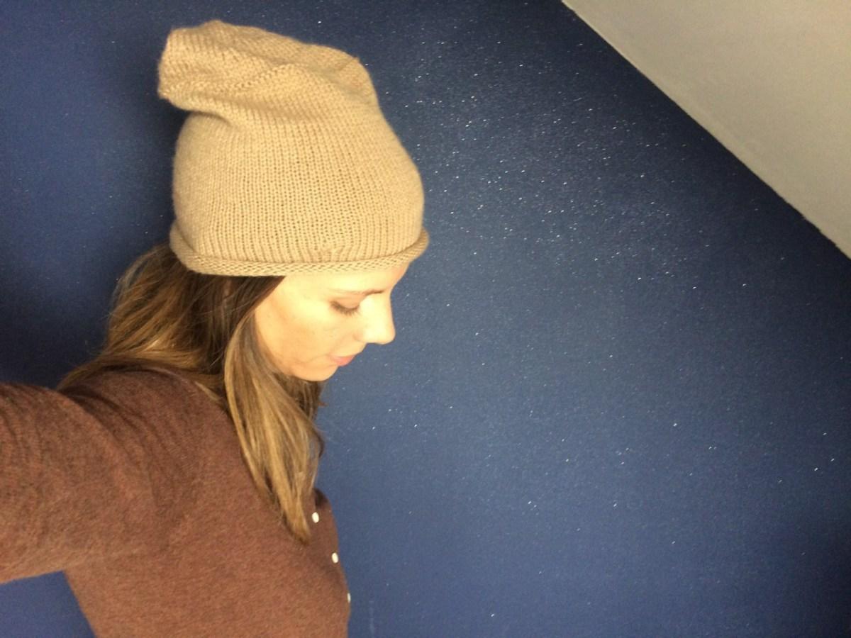 Tricot - Mon bonnet Boy Friend d'automne