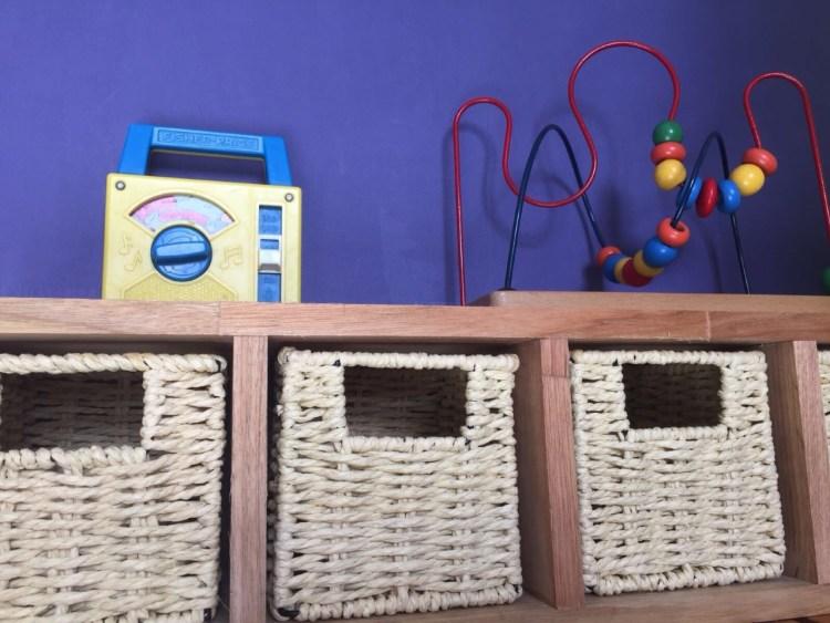 étagère pour chambre d'enfant