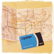 My tube map and oyster card