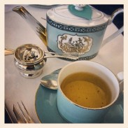 High Tea at Fortnum and Mason's Diamond Jubilee Tea Salon
