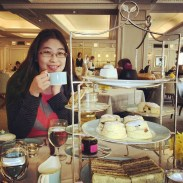 High tea at Fortnum and Mason