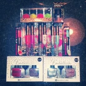 My nail polish stash from Primark. All of this for $27 CDN!