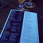 The drink menu.