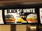 McDonald's Black/White menu seems to be an Asian thing from what I've seen