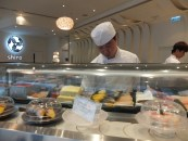 Midday sushi snack at Shiro in Hysan Place