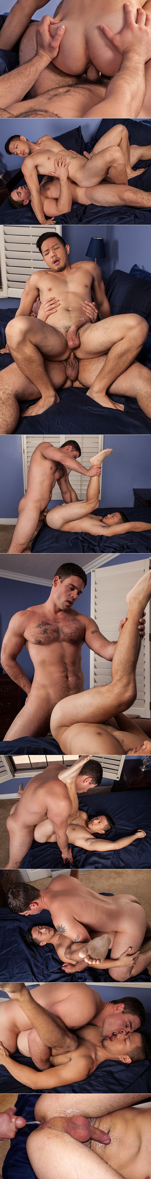 Randy Blue: Derek Atlas makes his bareback debut with Cooper Dang