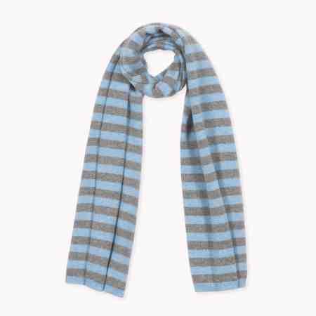 Fagiolino Cashmere Stripes Celeste Blue