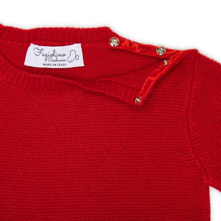 kids cashmere sweater detail