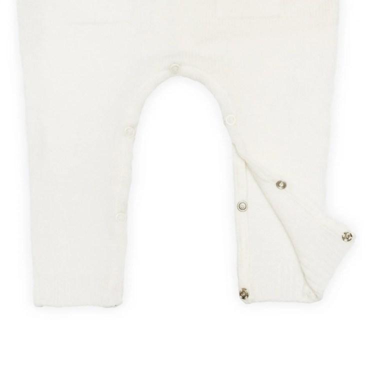 cashmere onesie detail