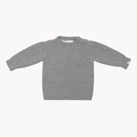 Fagiolino Cashmere Cittino Sweater Zeno Grey