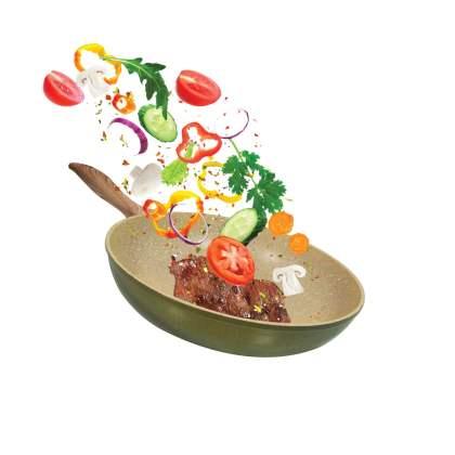 Tiganj 28cm - Olive Garden OG-28 povrce