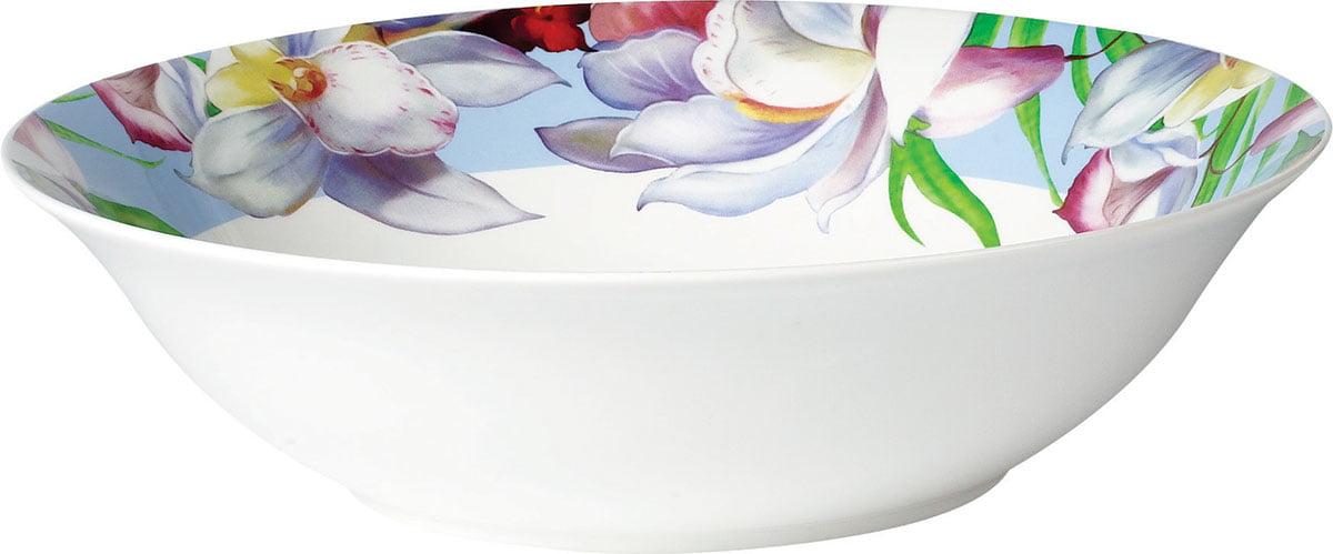 Flower porcelanski set za ručavanje duboka činija