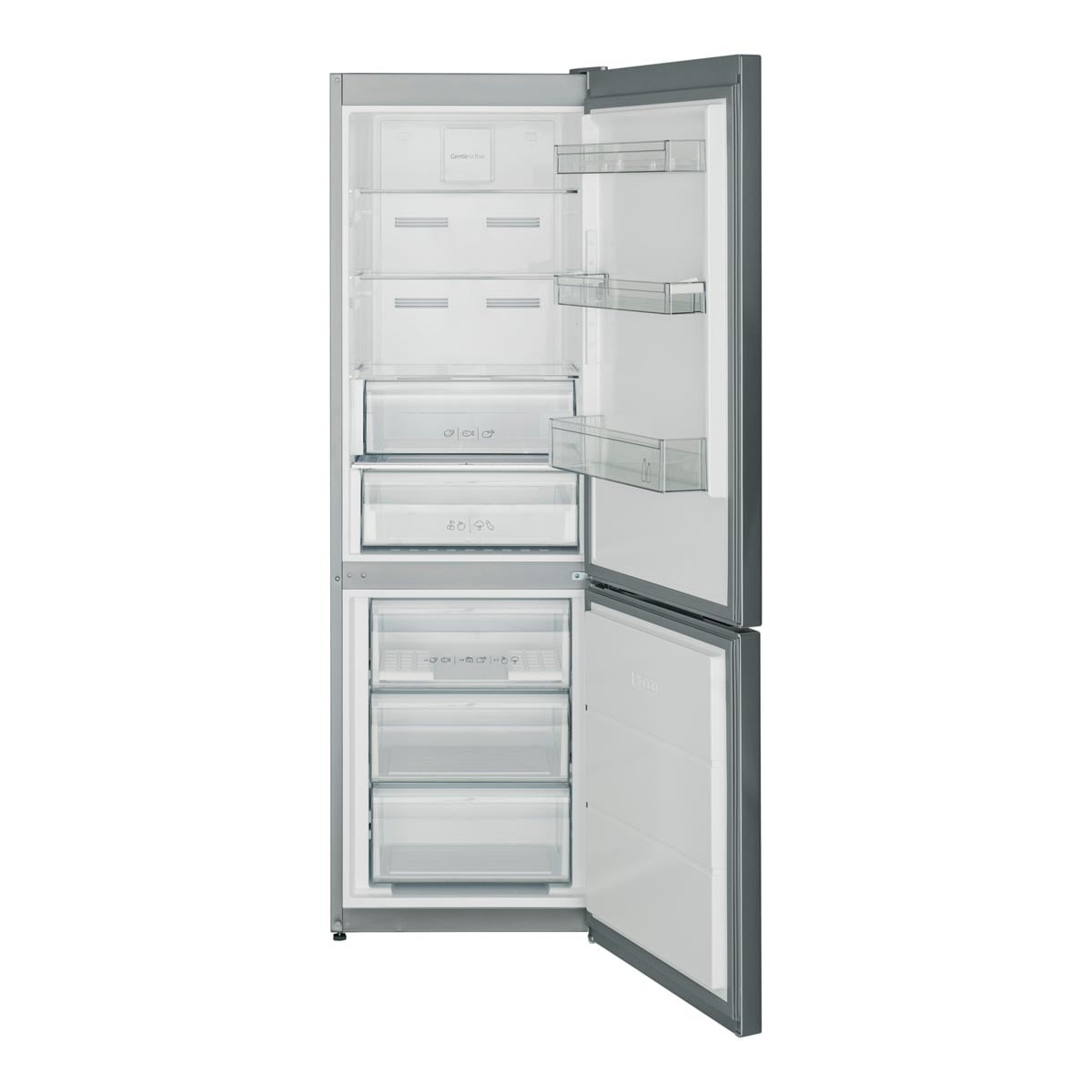 Kombinovani frižider 324 l (208+22+94) - Sharp SJ-BA10IMXI2 otvorena vrata